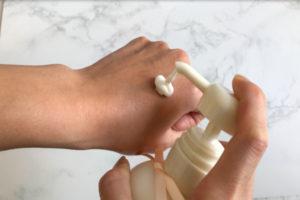 ナチュラルマーククリーム使用感1