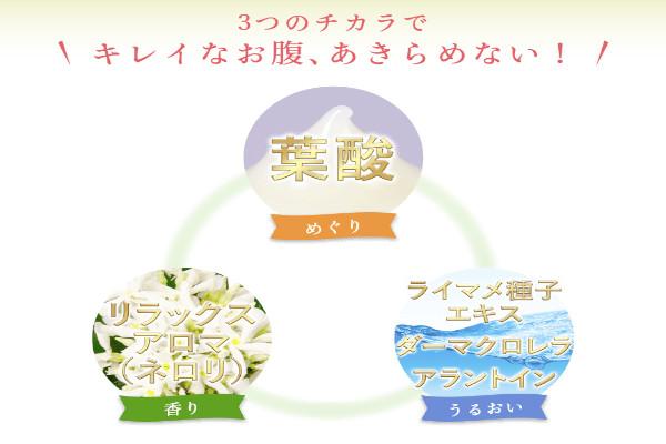妊娠線予防3つの力