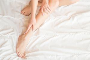妊娠線対策にリンパマッサージで冷え予防