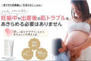 ノワーレの妊娠線ケア効果を口コミでチェック!クリームに含まれる成分や保湿力を調査!